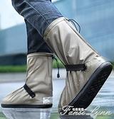 防水雨鞋套男女套鞋防水雨鞋防滑加厚耐磨水鞋下雨鞋子防雨雨靴套 范思蓮恩