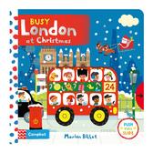Busy London At Christmas 聖誕老公公在倫敦 硬頁操作拉拉書