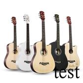 吉它吉他38寸民謠吉他40寸41寸初學者吉他新手入門練習琴男女通用XW 快速出貨