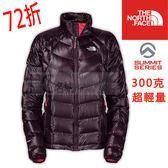 The North Face 900FILL 羽絨保暖外套 女~深紫 (A0JN) ~★買就送保暖圍巾★