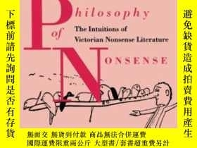 二手書博民逛書店Philosophy罕見Of Nonsense: The Int