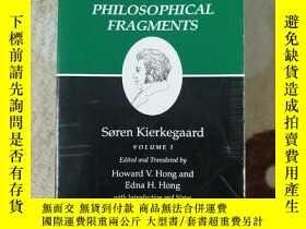 二手書博民逛書店Concluding罕見Unscientific Postscript To Philosophical Frag