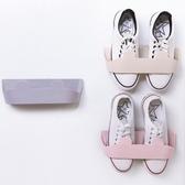 收納神器 鞋架 拖鞋架 壁掛式 塑料架 黏貼式 收納架 壁掛式立體鞋架 ◄ 生活家精品 ►【H019】