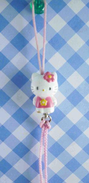 【震撼精品百貨】Hello Kitty 凱蒂貓~KITTY手機提帶-粉方塊