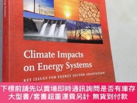 二手書博民逛書店Climate罕見Impacts in Energy Systems:Key Issues for Energy