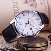 帶手錶男士休閒防水簡約運動情侶腕錶女學生時尚潮石英錶機械 NMS街頭潮人