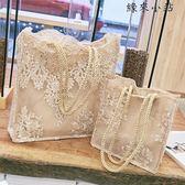 手提包購物袋鏤空沙灘包復古單肩包