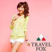 【夏之戀TRAVEL FOX】活力亮采外搭罩衫外套(C14711)