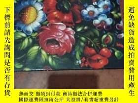 二手書博民逛書店russian罕見hand painted traysY1664