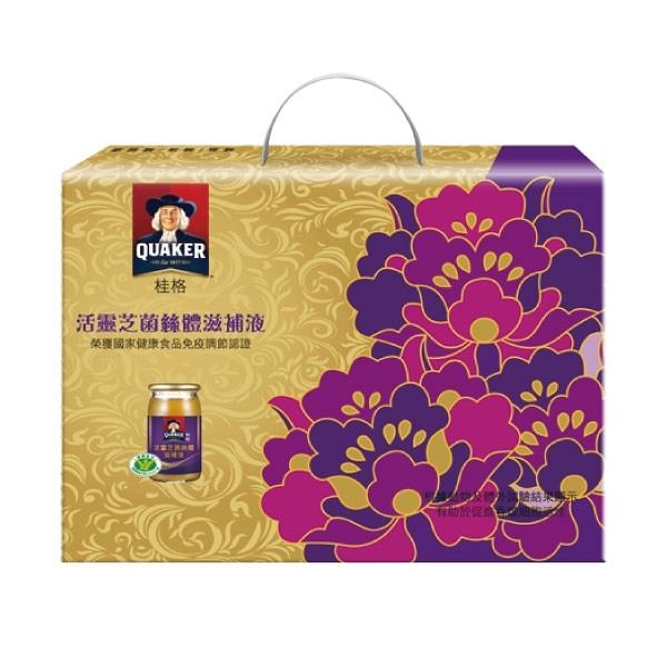 桂格活靈芝禮盒(8瓶/盒)【杏一】