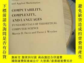 二手書博民逛書店COMPUTABILITY,COMPLEXITY,AND罕見LANGUAGES(京)Y179933 見圖 見圖