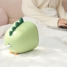 220V小恐龍暖風機可愛辦公室桌面電暖氣家用節能省電速熱小型取暖【全館免運】