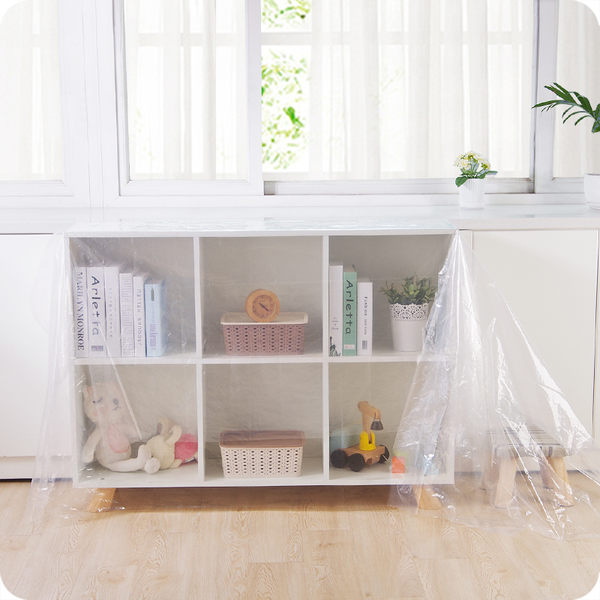 家具透明塑料防塵布擋灰布沙發防塵罩遮蓋巾裝修遮灰擋灰布
