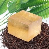 易晶緣天然黃方解石原石擺件方塊狀標本石礦裝飾水晶石頭兒童寶石