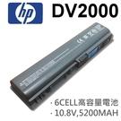 HP 6芯 DV2000 日系電芯 電池...