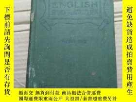 二手書博民逛書店民國英文原版書:ENGLISH罕見SPOKEN AND WRITTEN BOOK II. 英文口語和書面語 192
