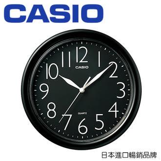 CASIO 卡西歐 IQ-01 經典大方指針圓形掛鐘 / 個 (顏色隨機出貨)