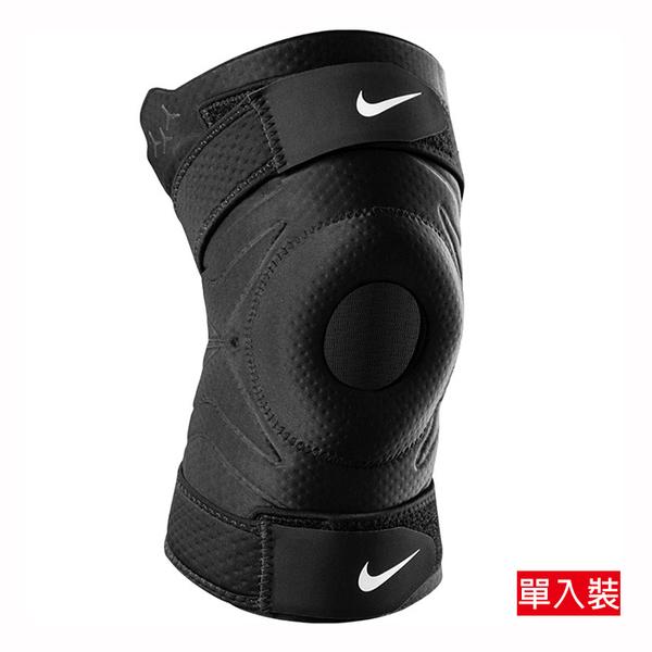 NIKE PRO 開口調節式護膝 單入裝 DRI-FIT快乾科技 N1000672010 【樂買網】