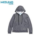 MIZUNO 女裝 連帽外套 休閒 舒適 修身 基本 灰 【運動世界】 D2TC723108