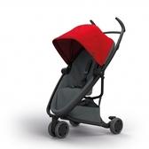 Quinny Zapp X FLEX 嬰兒手推車(三輪/獨立把手)-標準版(紅篷深灰布)贈提籃+雨罩[衛立兒生活館]