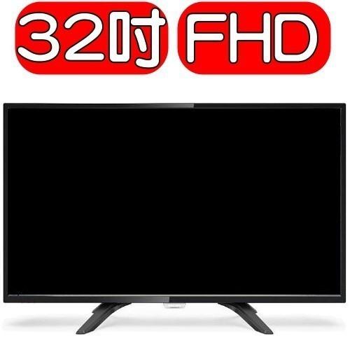 Philips飛利浦【32PFH4052】32吋FHD LED液晶顯示器+視訊盒 優質家電