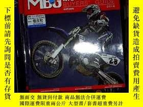 二手書博民逛書店MBG罕見MOTORCYCLE BUYERS GUIDE 201