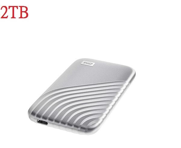 【WD威騰SSD 2TB】2TB My Passport™ SSD 讀取1050MB/s2 寫入1000MB/s2 【5年保固 公司貨】