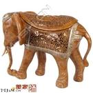 泰國仿木大象擺件...