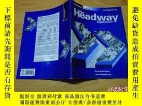 二手書博民逛書店New罕見Headway English Course【郵掛費