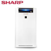 【SHARP 夏普】12坪自動除菌離子水活力空氣清淨機(KC-JH50T-W)