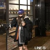 棉衣女飛行員夾克棉服秋冬季寬松棒球服加厚韓版原宿風bf學生外套