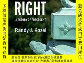 二手書博民逛書店Settled罕見Versus RightY256260 Randy J. Kozel Cambridge U