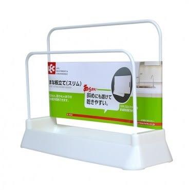 特惠組 日本製造inomata可彎曲砧板4片組+砧板架