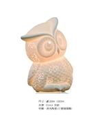 【燈王的店】療癒系列 透光陶瓷陶瓷貓頭鷹 (小隻) 桌燈 ☆ 11229/T1