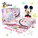 迪士尼 卡通 磨毛 四季被 冷氣被 Mickey Disney 幼稚園