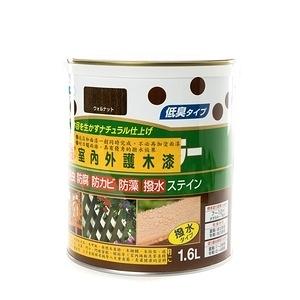 日本 ASAHIPEN 室內外防虫防霉 胡桃 護木漆 1.6L 日製