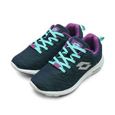 LIKA夢  LOTTO 飛織輕量跑鞋 耀眼炫彩系列 CITYRIDE 藍紫 5077 女
