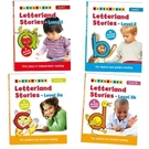 【Letterland】Letterland Stories Level 1 + 2 + 3(4書)