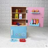 兒童過家家做飯男女孩廚房玩具1-3-6歲套裝木質寶寶仿真煮飯廚具