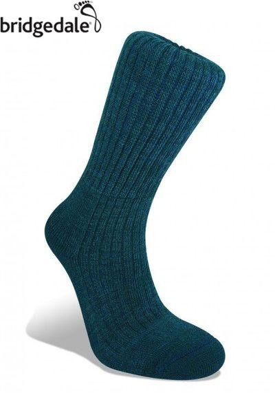 Bridgedale 英國 TK健行者 美麗諾保暖-中厚 L 海軍藍 596 登山襪子 健行襪 排汗襪 保暖襪 [易遨遊]