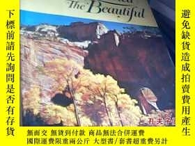 二手書博民逛書店America罕見the beautiful(美國風光)1967