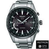 【僾瑪精品】SEIKO ASTRON 衛星校時GPS 鈦金屬太陽能腕錶-黑X銀/45mm-8X22-0AG0D(SSE085J1)