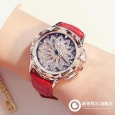 韓版全鉆大錶盤時來運轉手錶女滿鉆時尚潮流水鉆防水個性大氣女款
