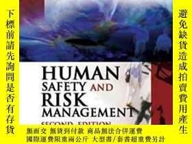 二手書博民逛書店【罕見】Human Safety And Risk Manage