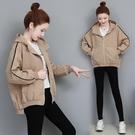 風衣外套 春秋風衣短外套2020年新款女韓版寬鬆網紅風衣休閒夾克上衣ins潮 零度3C
