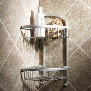 太空鋁浴室衛生間 三角籃