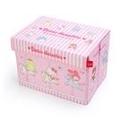 【震撼精品百貨】Hello Kitty 凱蒂貓~三麗鷗 KITTY~可折式收納箱-旋轉木馬*54595