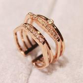 指環百搭歐美女戒時尚夸戒指食指配飾