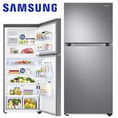 結帳再9折 109/1/31前回函贈24吋液晶  Samsung三星 500L 雙循環雙門冰箱 RT18M6219S9 時尚銀