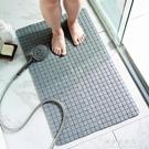 地墊 浴室防滑墊洗澡淋浴衛生間腳墊家用墊子廁所浴缸衛浴墊洗手間地墊【果果新品】